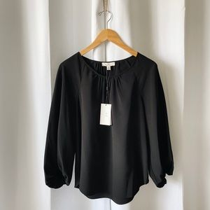 H By Halston Peasant Blouse